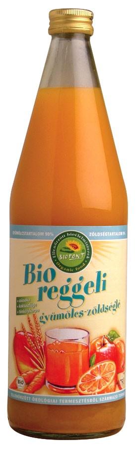 BIO Reggeli gyümölcs- és zöldséglé