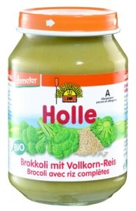 Bio brokkoli teljes rizzsel
